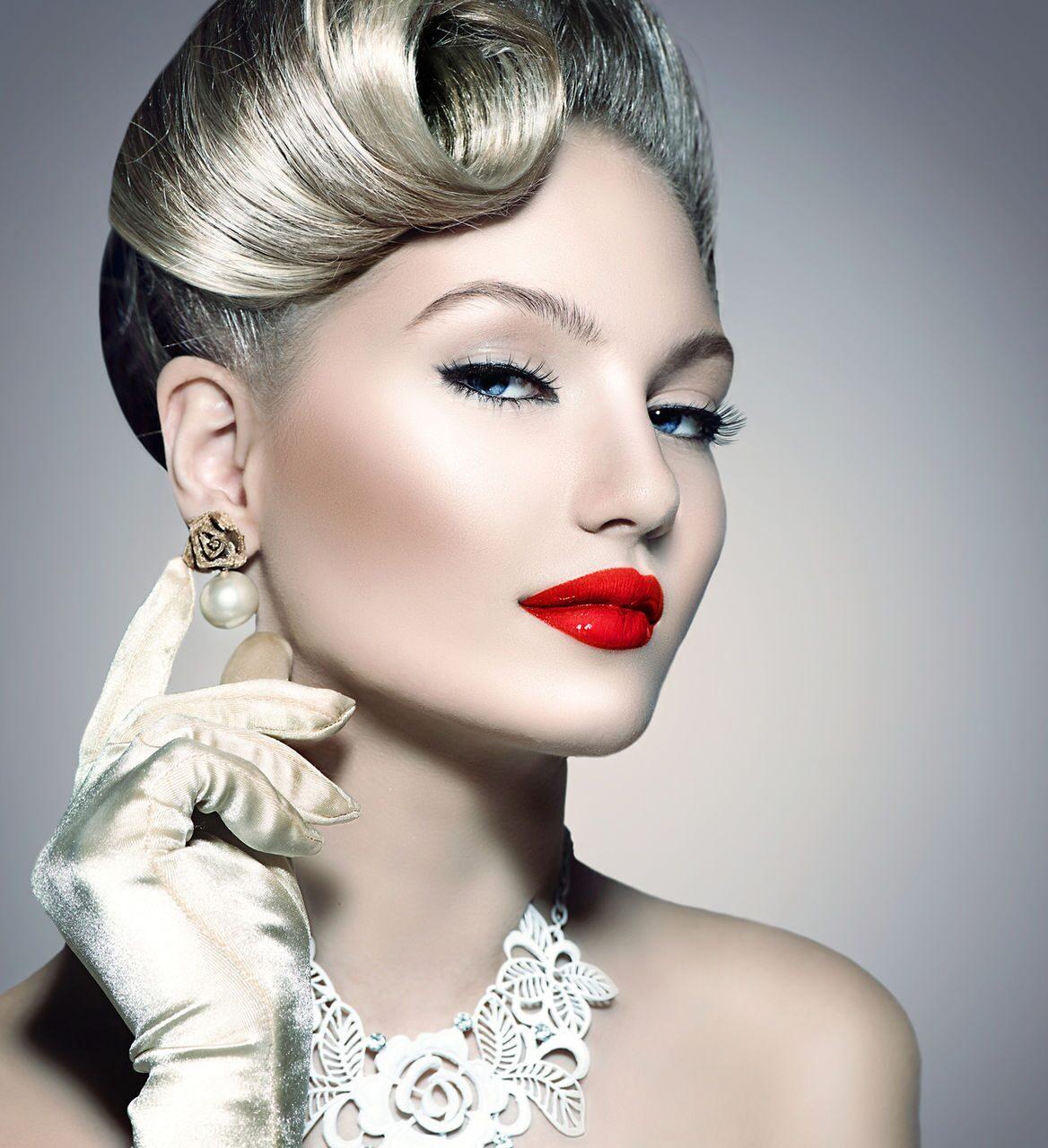 Мода в прическах и макияже